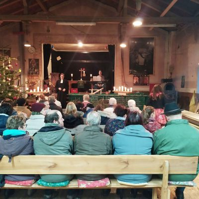 Neuendorf mit Bierkasten - Weihnacht 2019