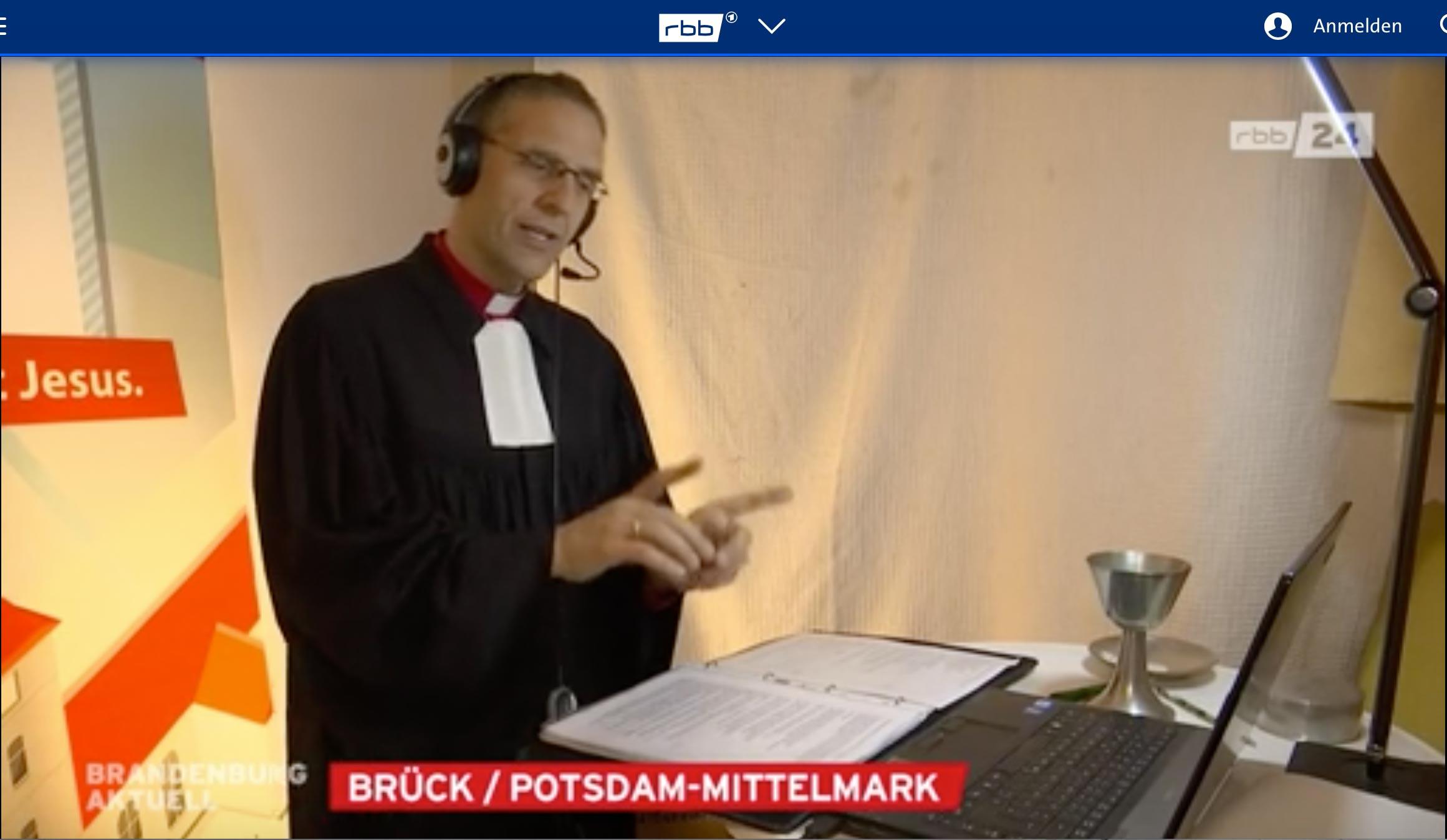Online-Gottesdienst in Brück