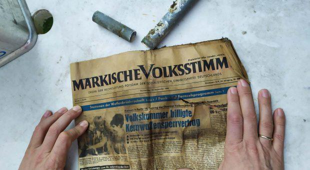 Märkische Volksstimme von 1969
