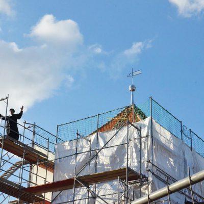 Kirche Neuendorf: Werk getan