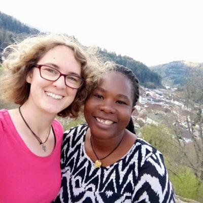 Malindi Lohse und Beffrey Wanjiku