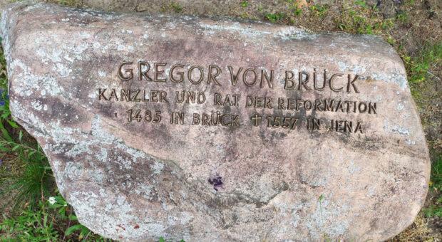 Gedenkstein für Gregor von Brück