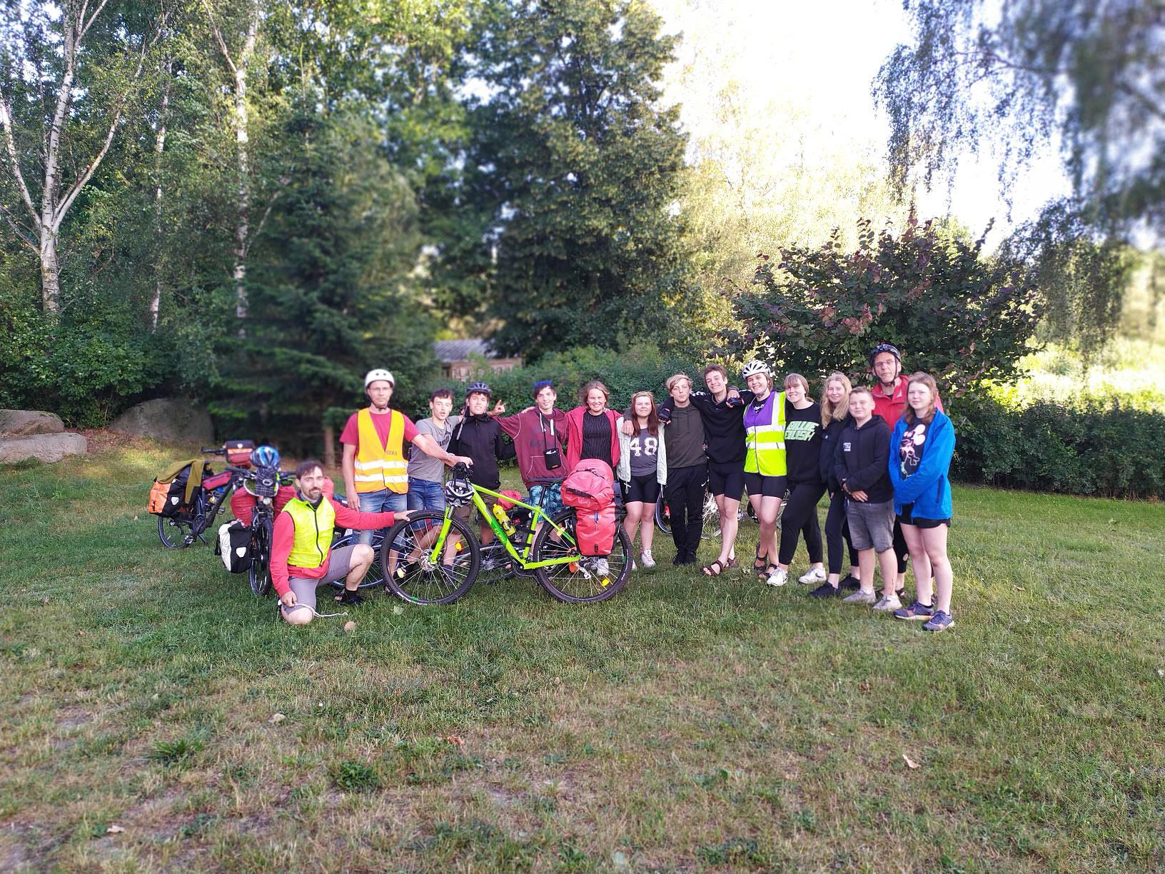 Kleines-Licht-Fahrradgruppe
