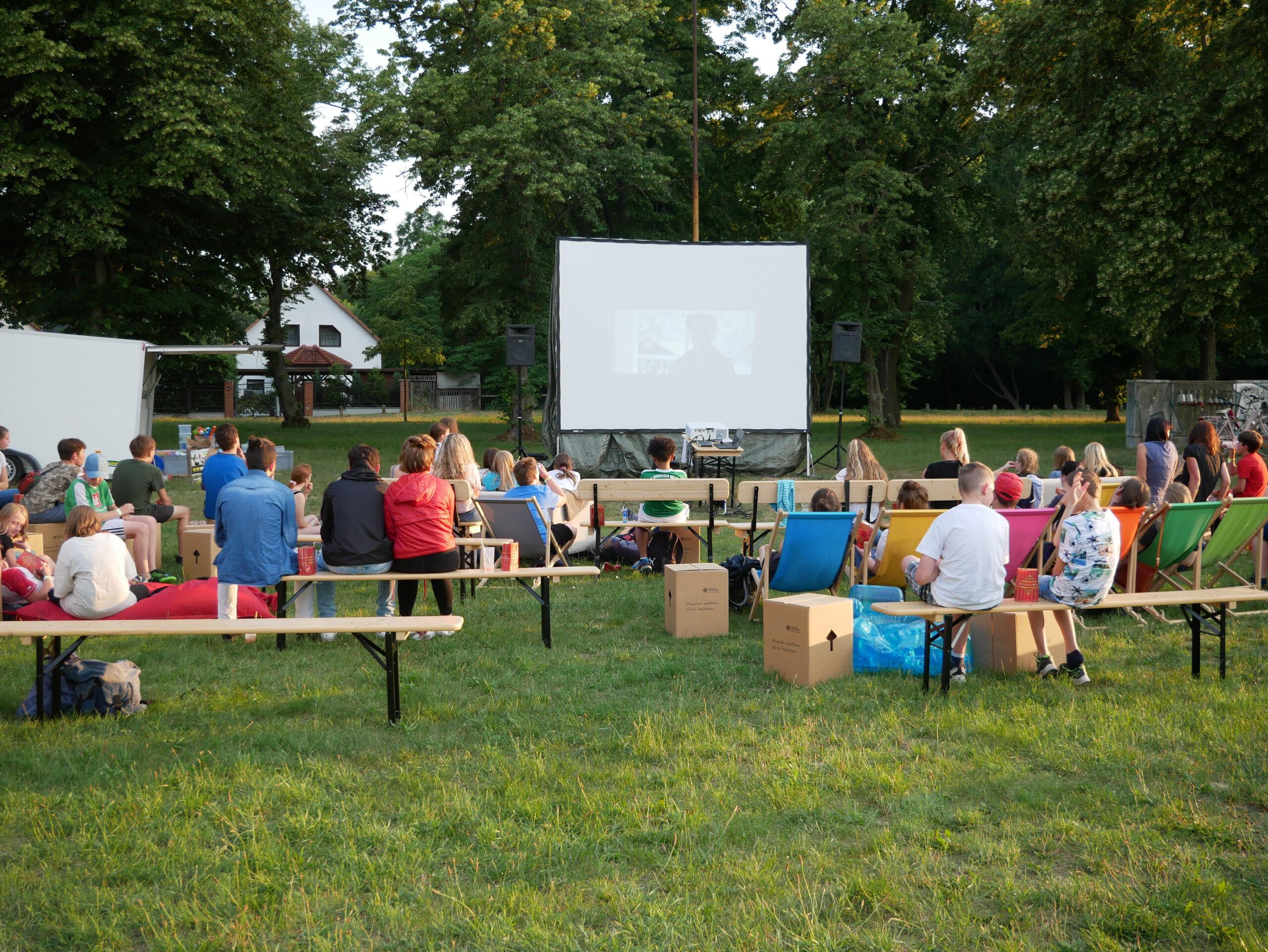 Open Air Kino bei Summer in the City Bad Belzig 2020