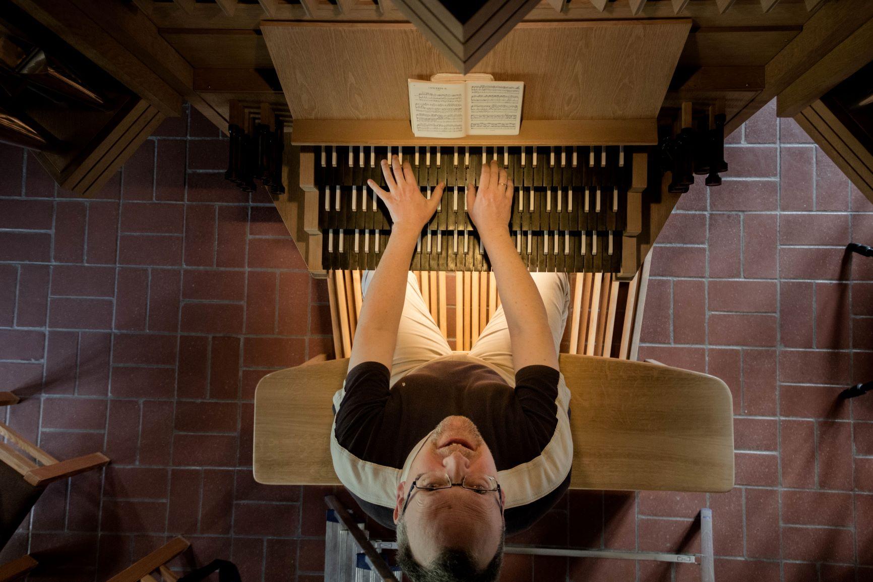 Orgelvirtuose Stefan Zeitz