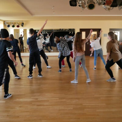 Tanzworkshop beim HipHop Workshop im Februar 2020
