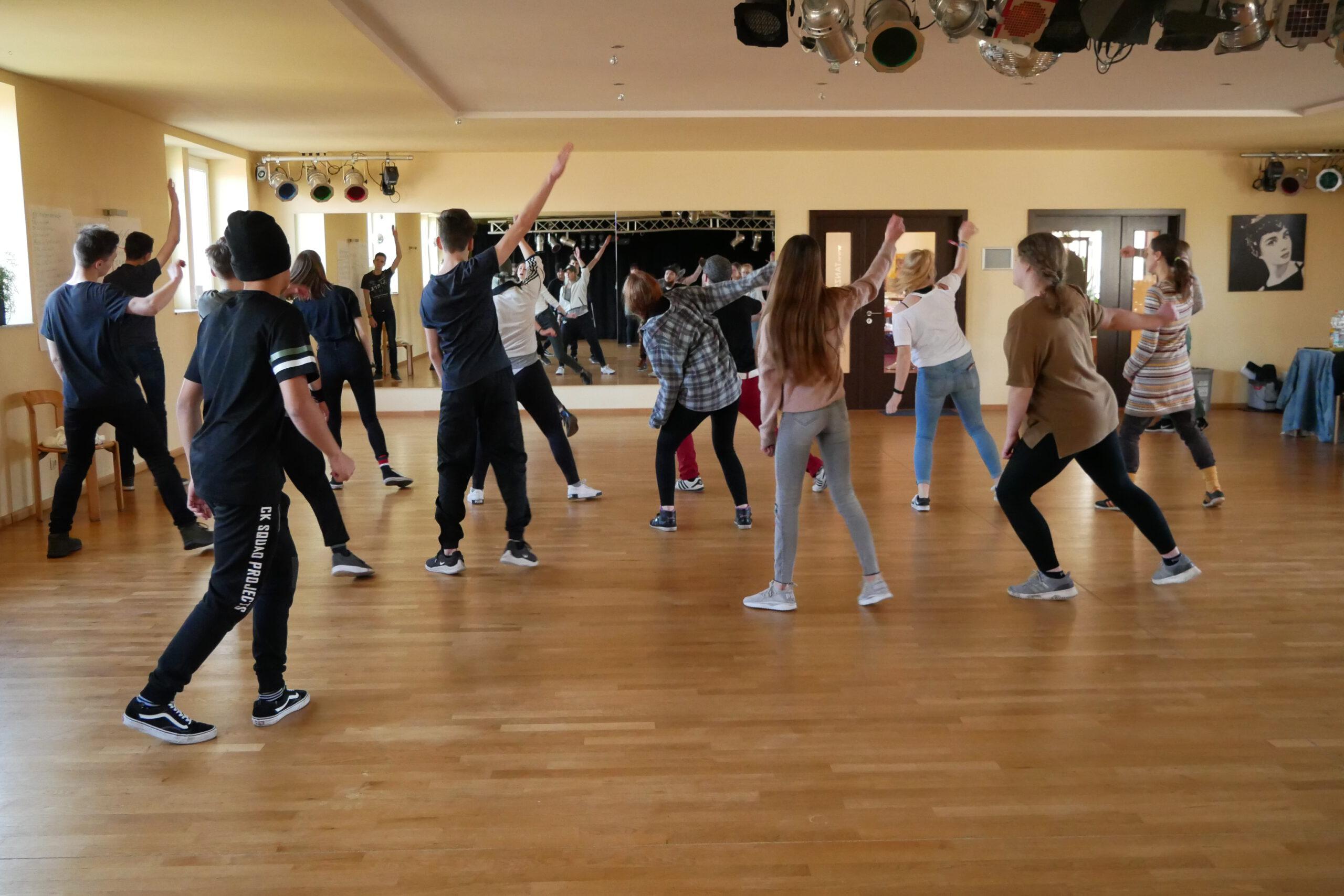 Tanzworkshop beim HipHop Workshop im Februar 2020