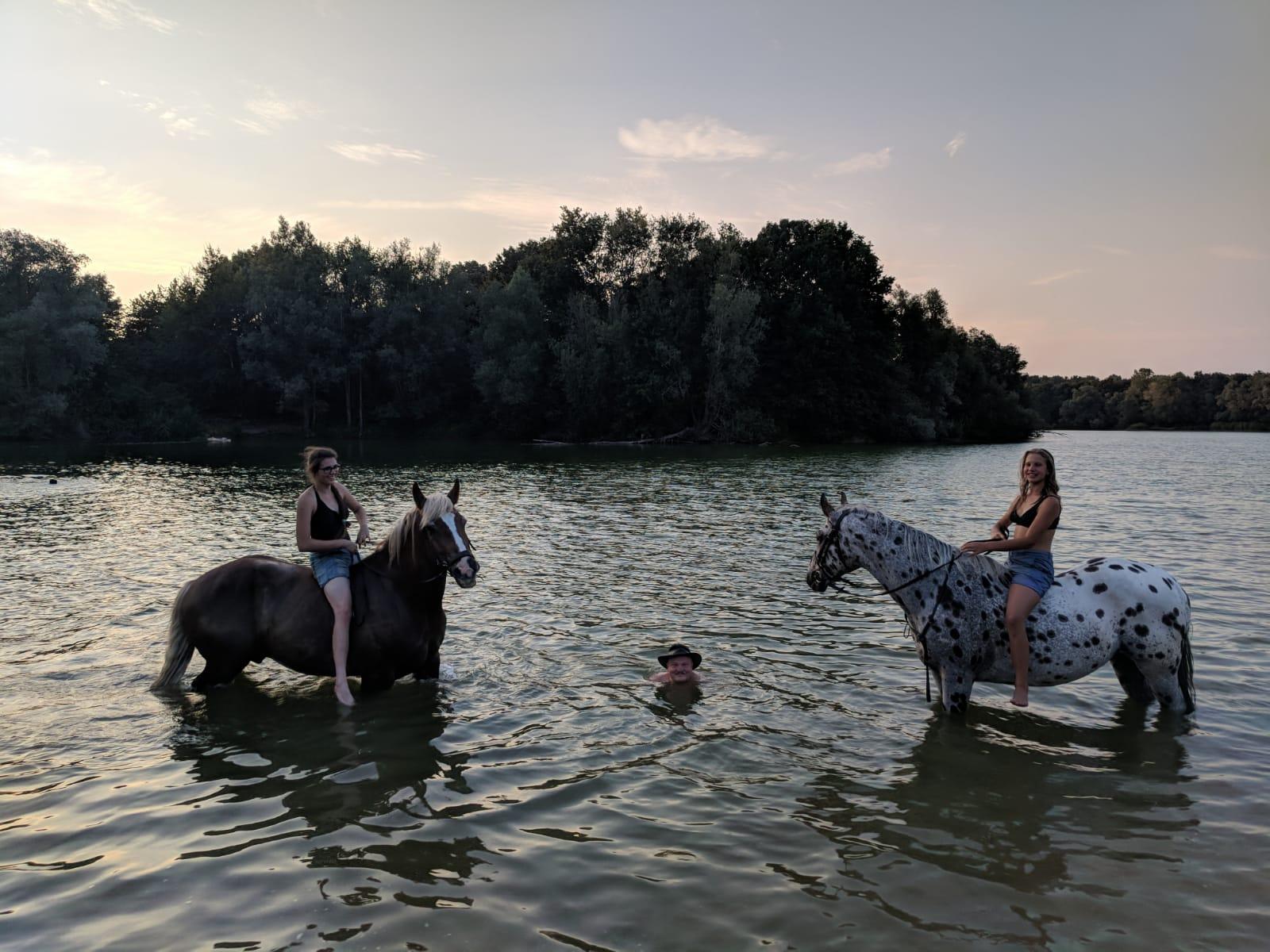 Erfrischung für Mensch und Pferd