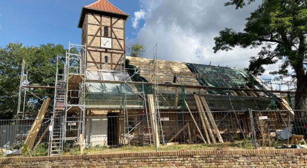 Baustelle Kirche Neuendorf