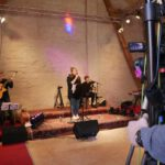 Die Band in Aktion